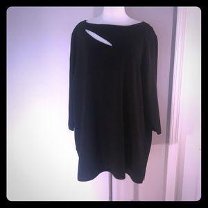 CJ Banks black sweater